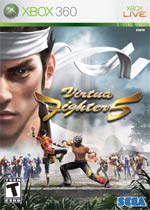 Virtua Fighter 5 Online box art