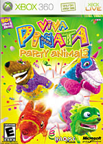 Viva Pi&#241ata: Party Animals box art