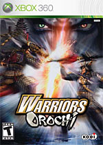 Warriors Orochi box art