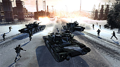 World in Conflict: Soviet Assault screenshot