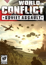 World in Conflict: Soviet Assault box art