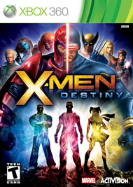 X-Men: Destiny Box Art