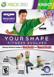 Your Shape: Fitness Evolved box art