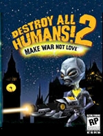 Destroy All Humans 2 box art