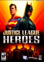 Justice League Heroes box art