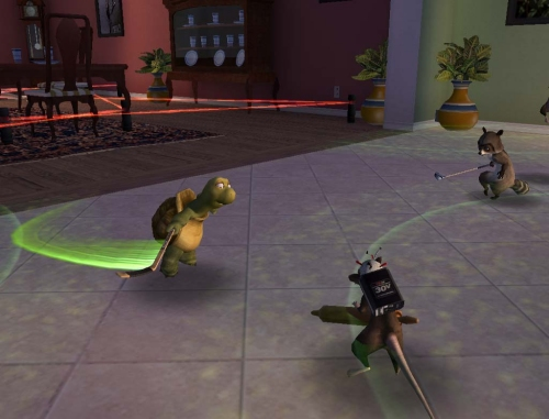 Over The Hedge screenshot