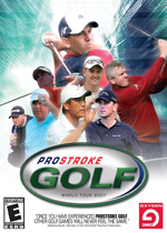 Pro Stroke Golf: World Tour 2007 box art